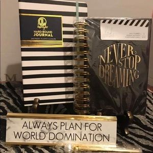 Perfect Glamour Planner Black/Gold Kit